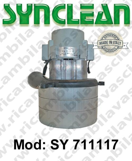 MOTEUR ASPIRATION SY 711117 SYNCLEAN pour autolaveuses et aspirateur