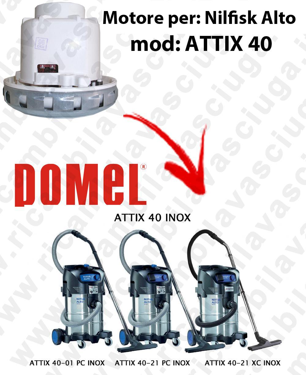 MOTEUR ASPIRATION DOMEL  pour ATTIX 40 aspirateur NILFISK ALTO