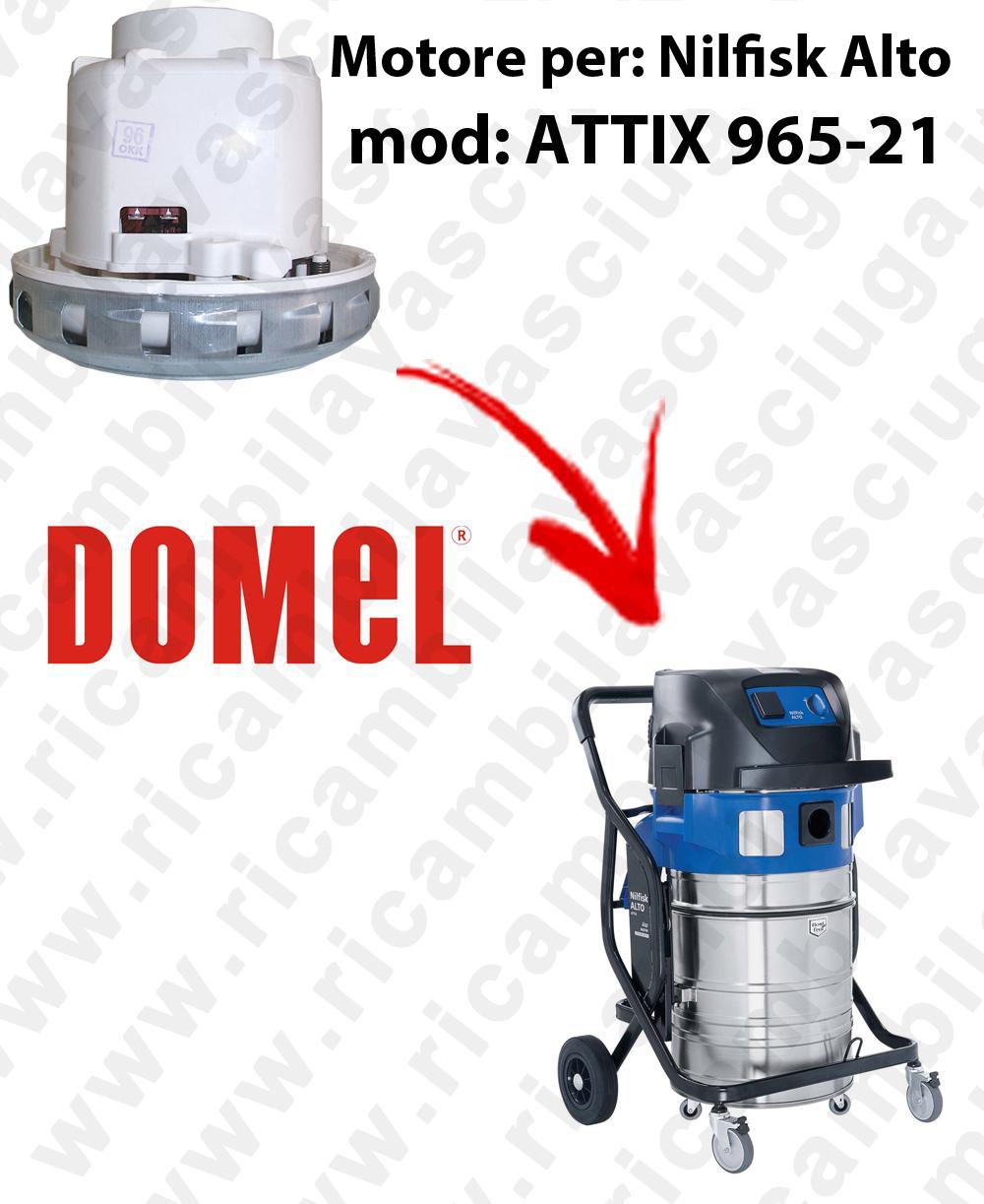 MOTEUR ASPIRATION DOMEL  pour ATTIX 965-21 aspirateur NILFISK ALTO