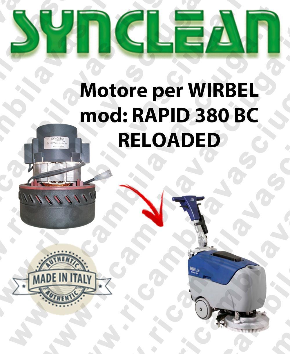 RAPID 380 BC RELOADED Saugmotor SYNCLEAN für scheuersaugmaschinen WIRBEL