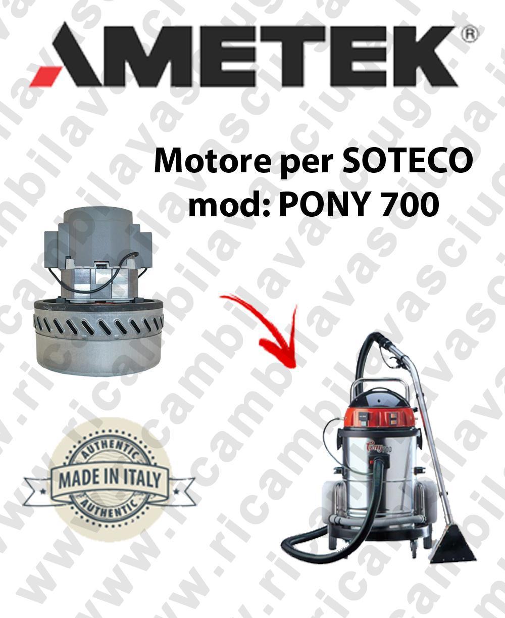 PONY 700 Saugmotor AMETEK für Staubsauger SOTECO
