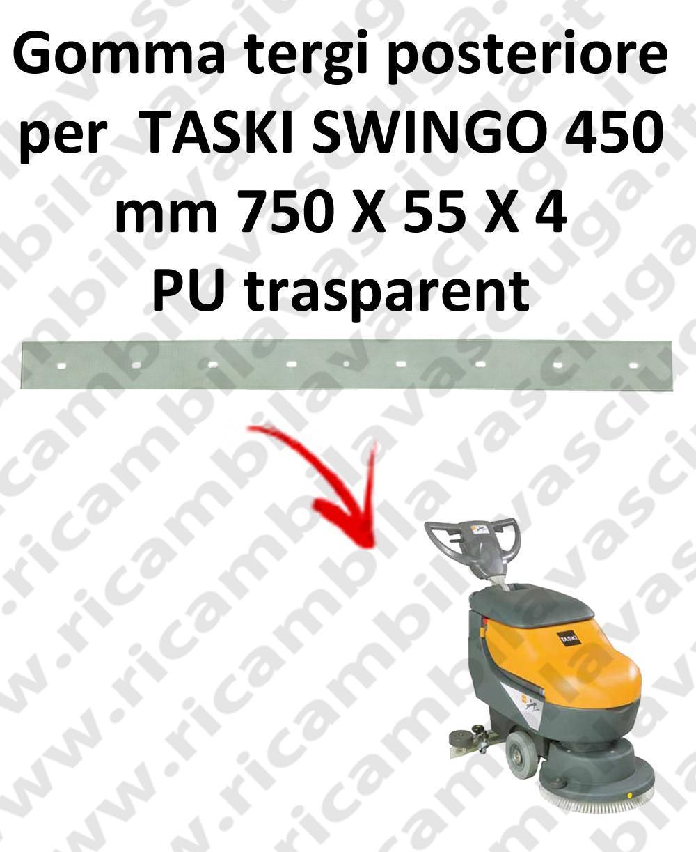 SWINGO 450  BAVETTE ARRIERE pour TASKI rechange autolaveuses suceur