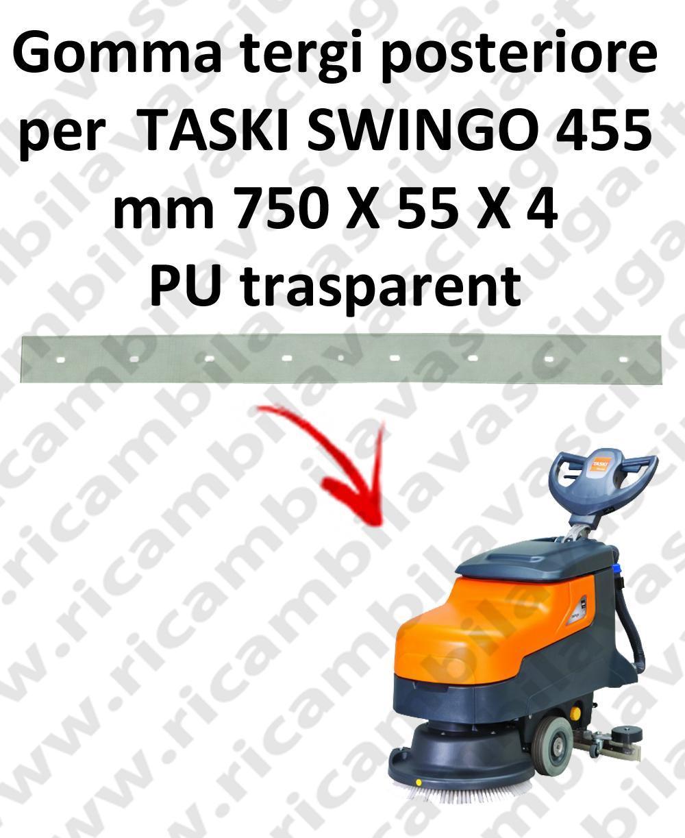 SWINGO 455  BAVETTE ARRIERE pour TASKI rechange autolaveuses suceur