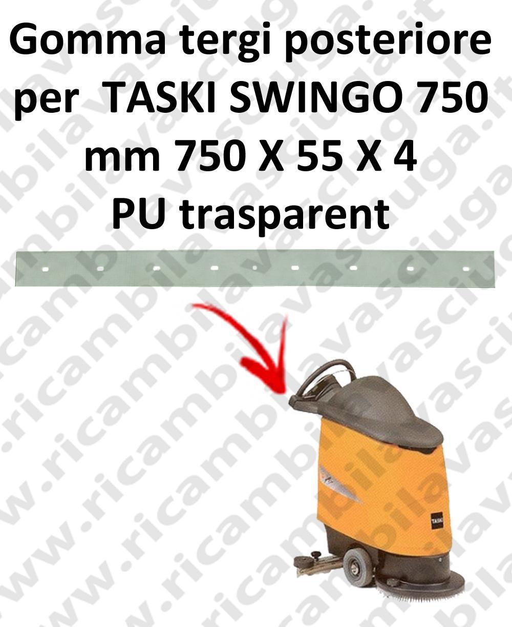 SWINGO 750  BAVETTE ARRIERE pour TASKI rechange autolaveuses suceur