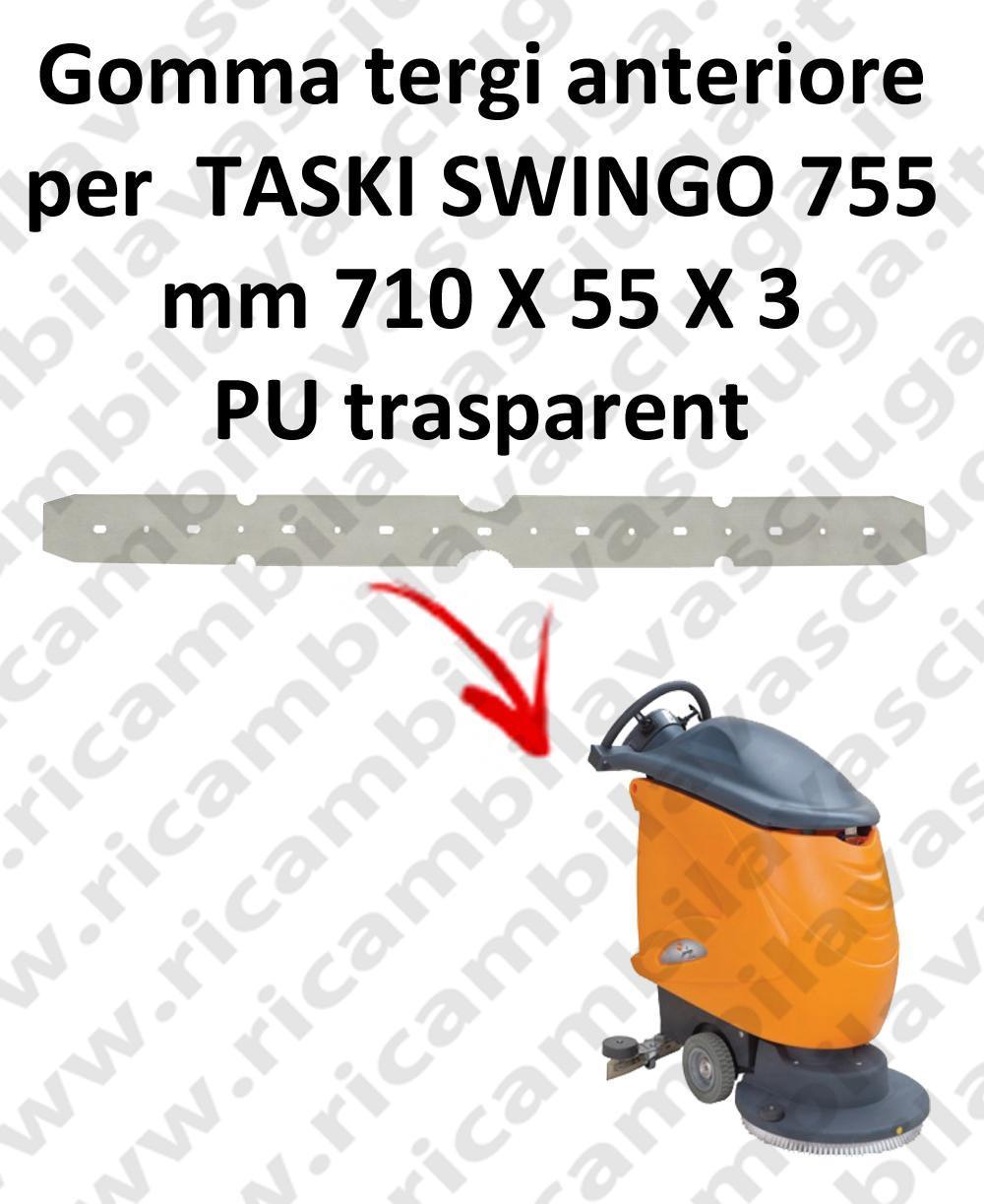 SWINGO 755  BAVETTE AVANT pour TASKI rechange autolaveuses suceur