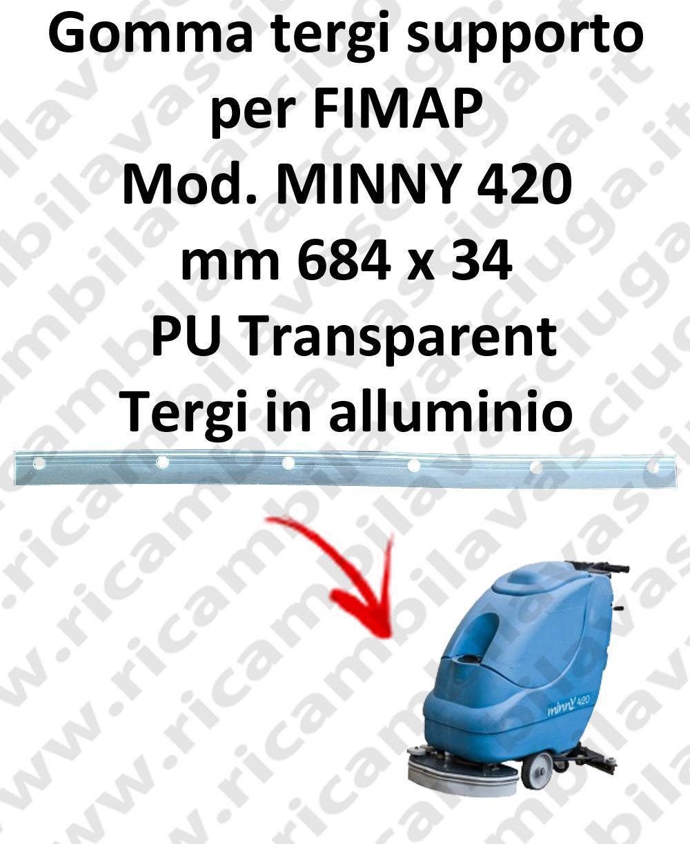 MINNY 420  BAVETTE soutien pour FIMAP rechange autolaveuses suceur