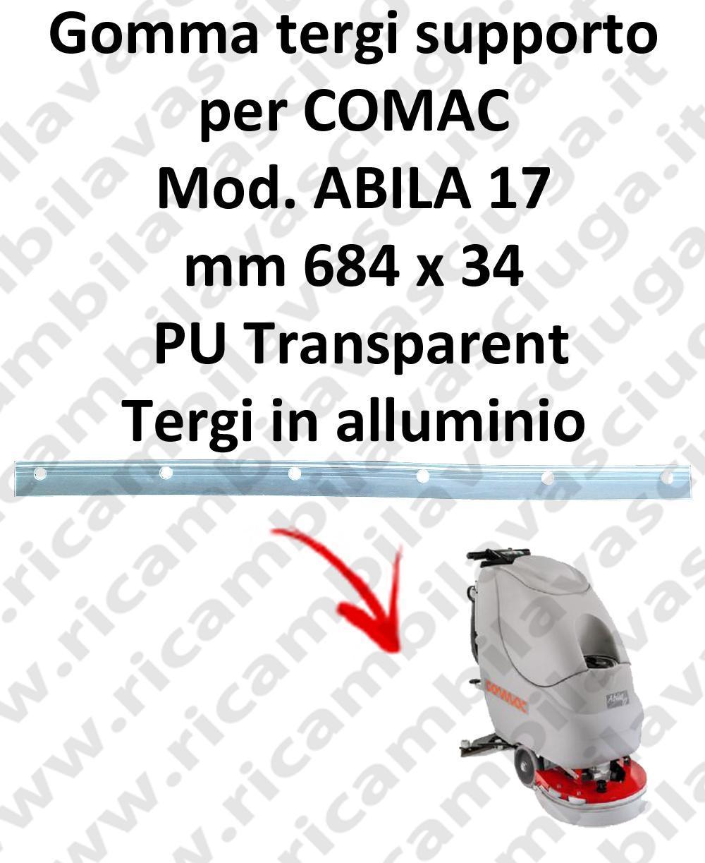 ABILA 17 BAVETTE soutien pour COMAC rechange autolaveuses suceur