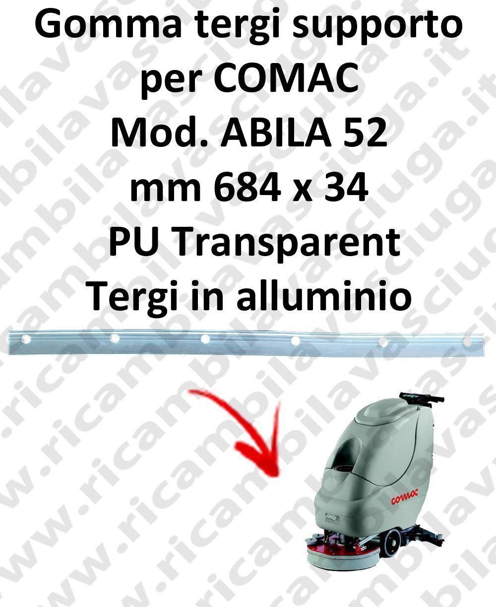ABILA 52 BAVETTE soutien pour COMAC rechange autolaveuses suceur