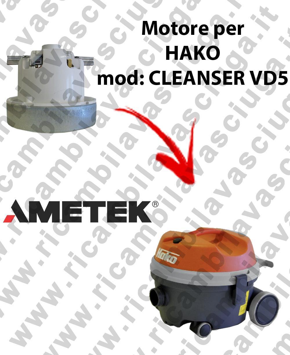 CLEANSER VD5 MOTEUR AMETEK aspiration pour aspirateur HAKO