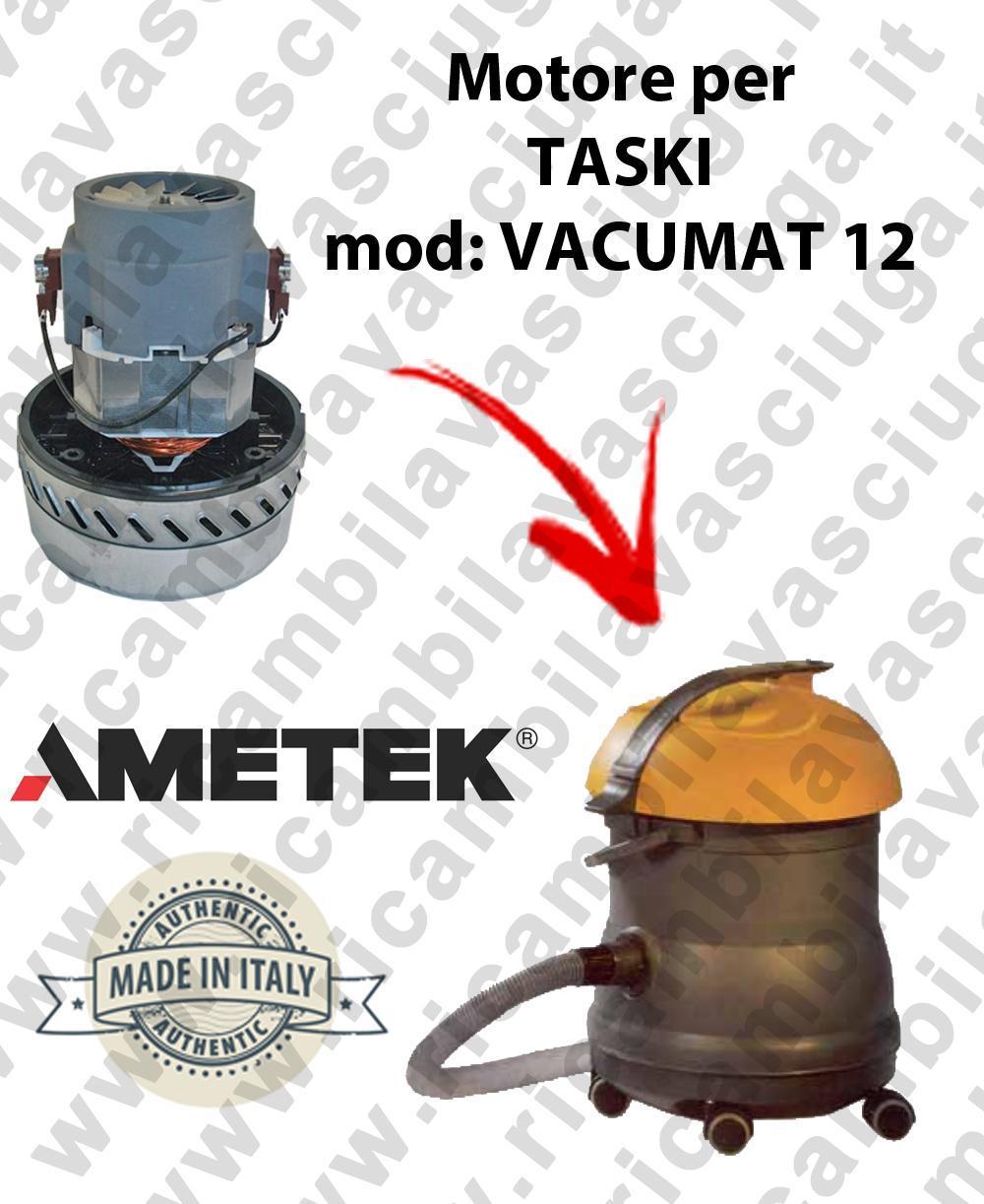 VACUMAT 12 MOTEUR AMETEK aspiration pour aspirateur et aspirateur à eau TASKI