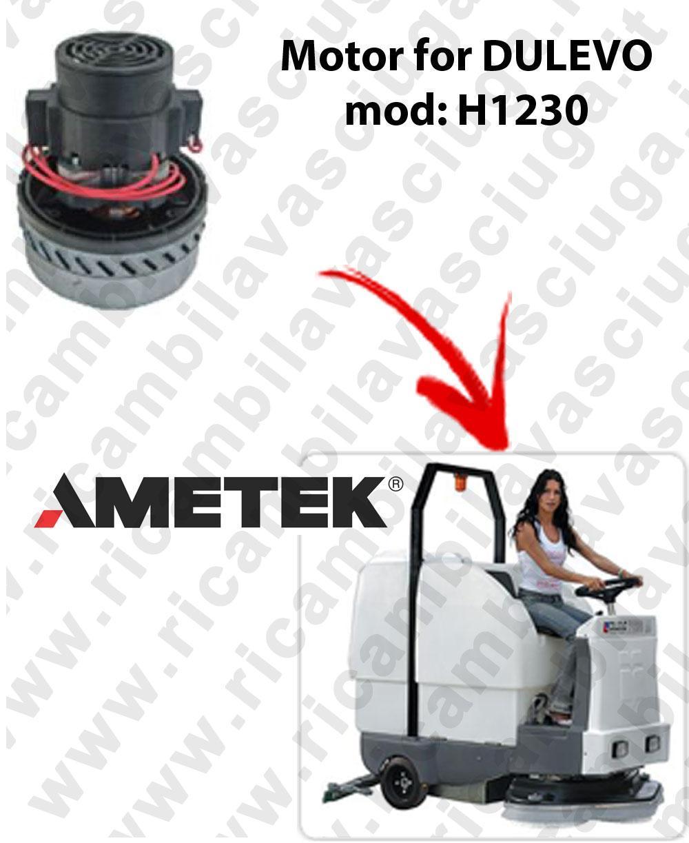 H1230 Saugmotor AMETEK ITALIA für scheuersaugmaschinen DULEVO
