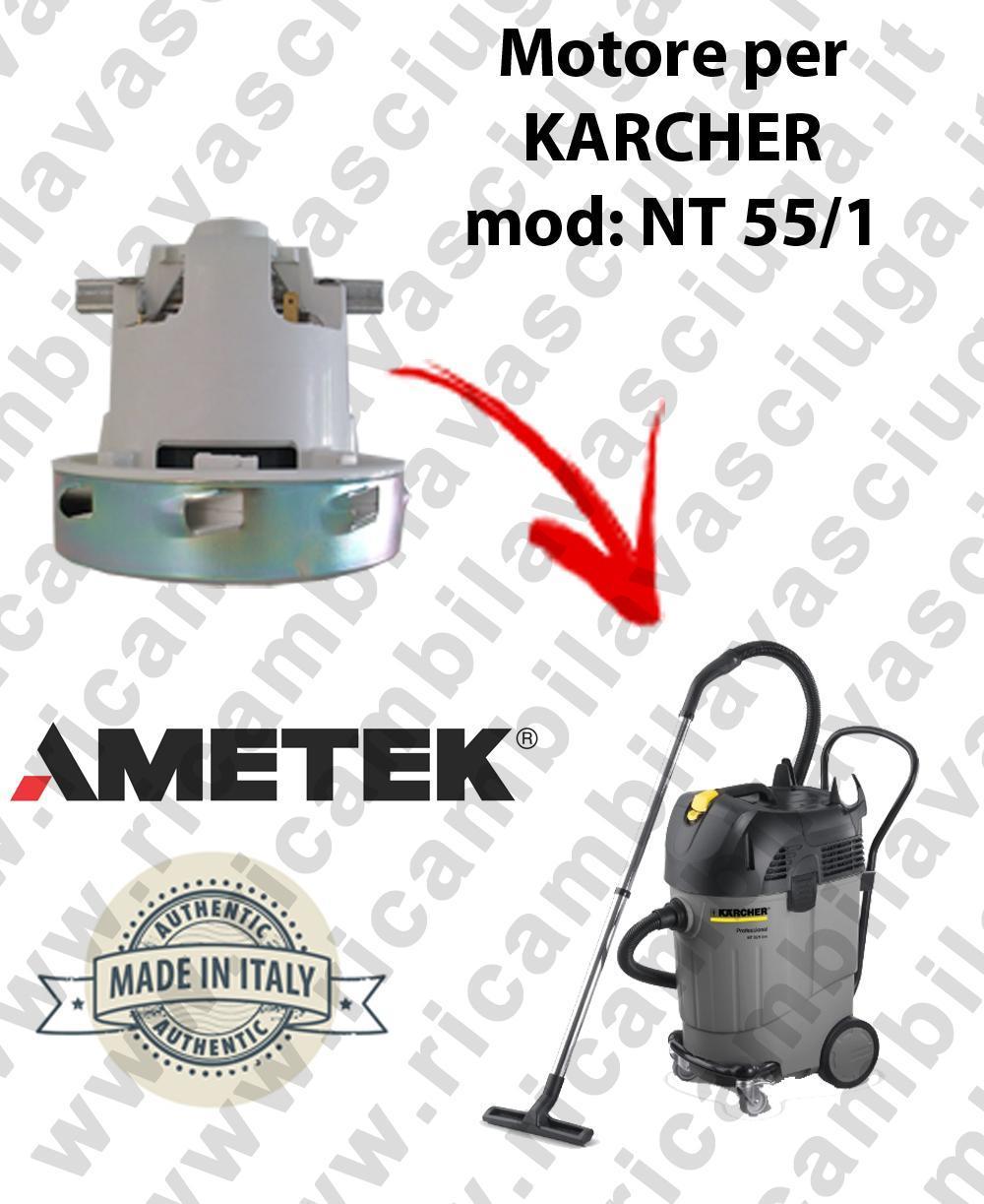 NT 55/1  MOTEUR ASPIRATION AMETEK  pour aspirateur KARCHER