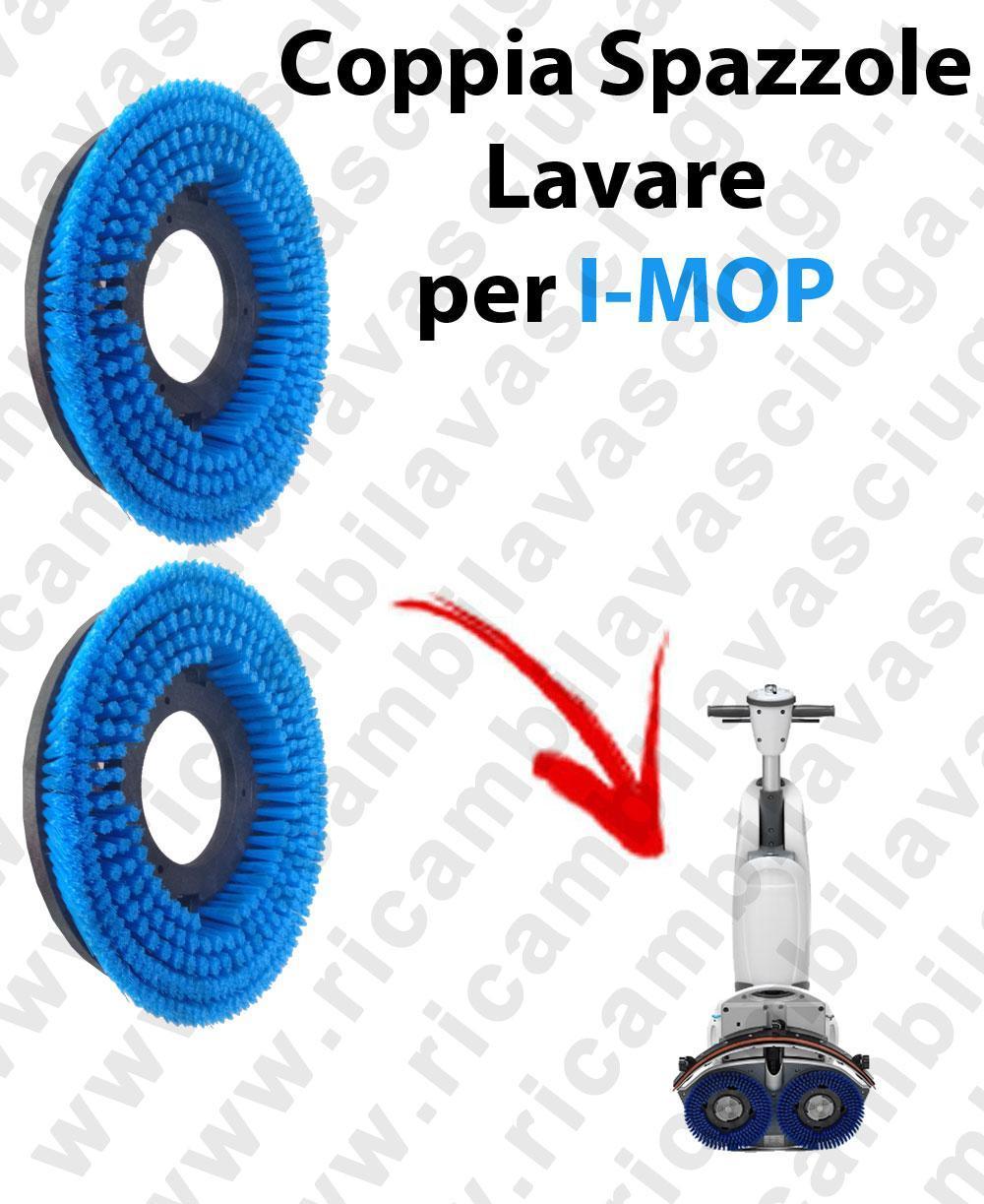 BROSSE A LAVER X 2  pour autolaveuses I-MOP