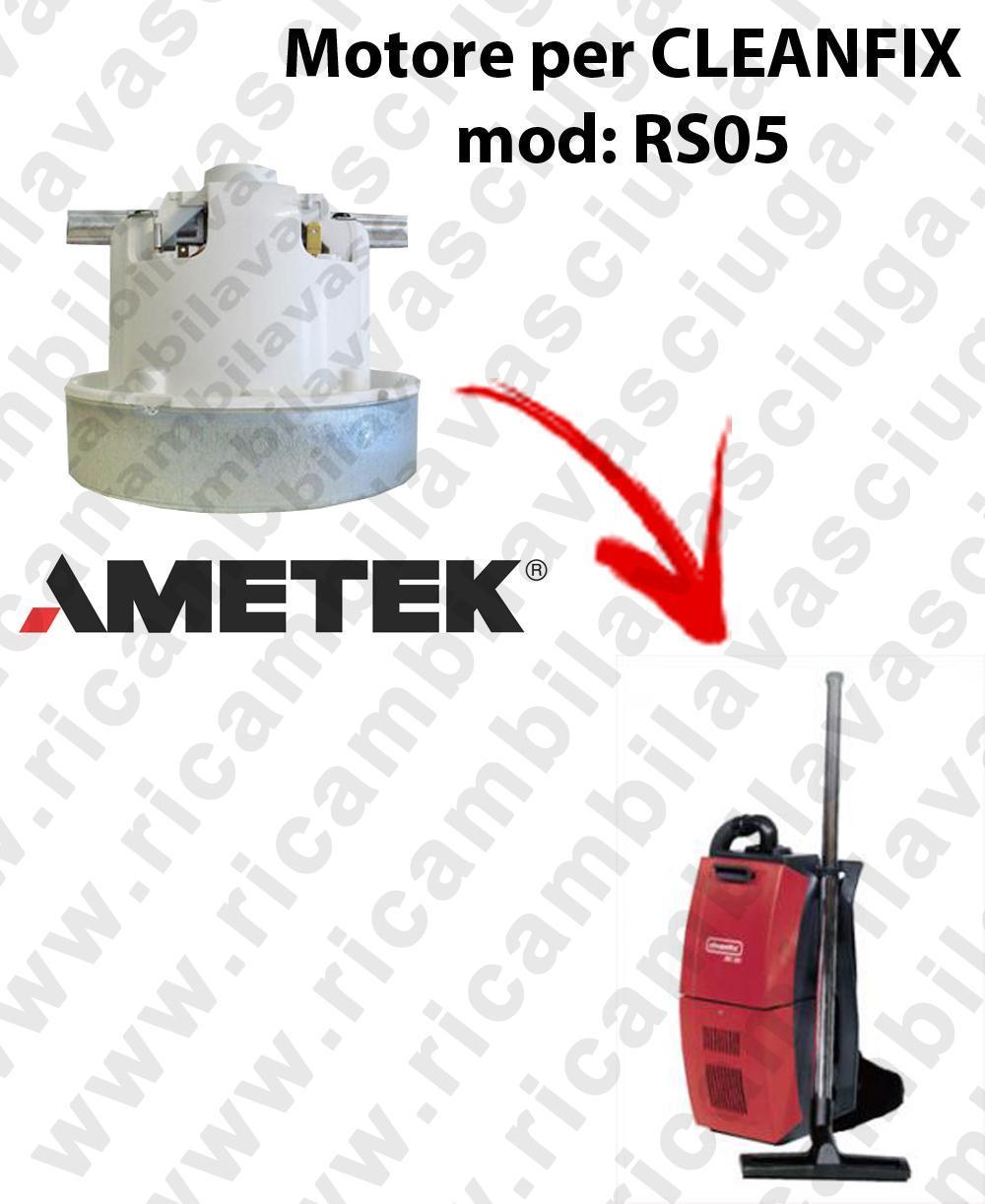 RS05 MOTEUR AMETEK aspiration pour aspirateur CLEANFIX