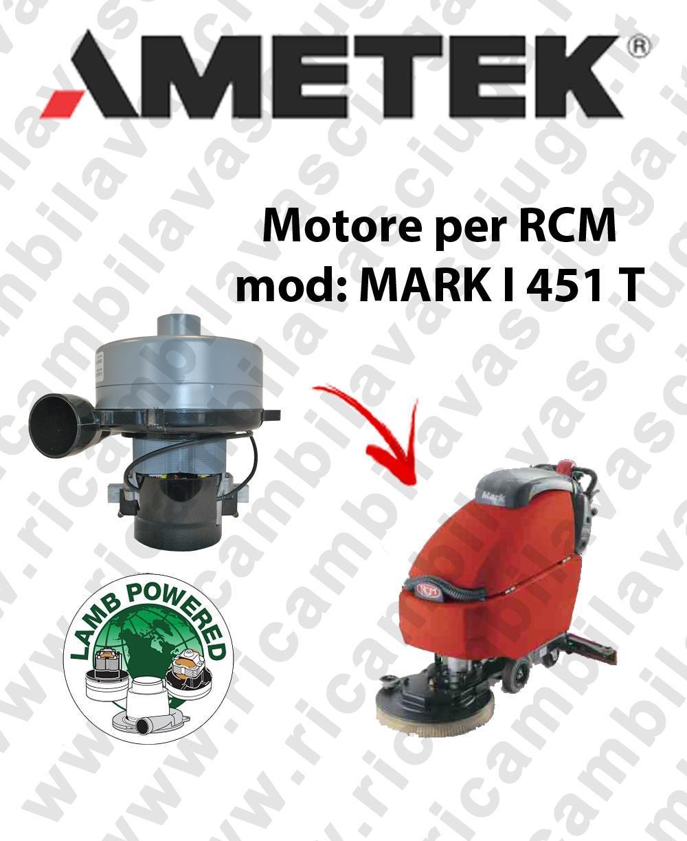 MARK I 451 T Saugmotor LAMB AMETEK für scheuersaugmaschinen RCM