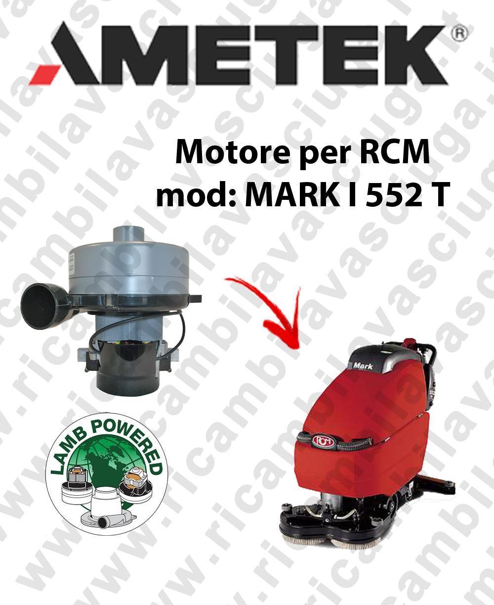 MARK I 552 T Saugmotor LAMB AMETEK scheuersaugmaschinen RCM