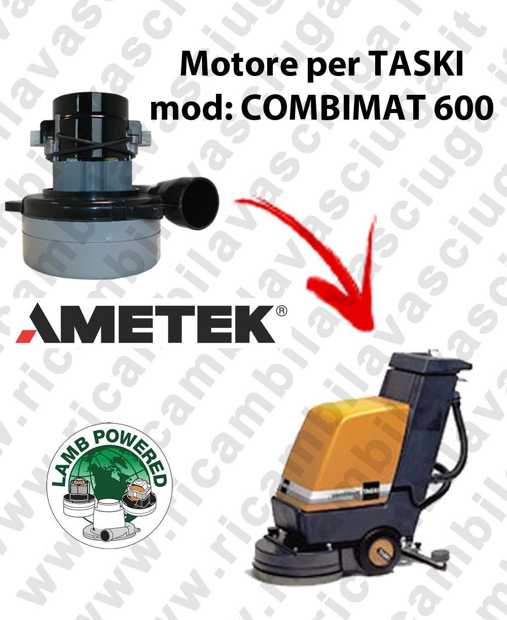 COMBIMAT 600 MOTEUR ASPIRATION LAMB AMATEK pour autolaveuses TASKI