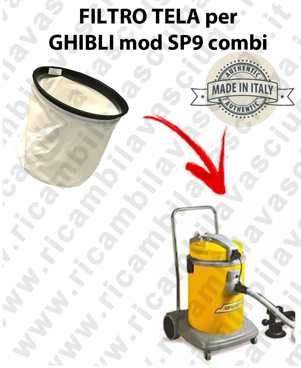 SP9 COMBI Leinwandfilter für Staubsauger GHIBLI