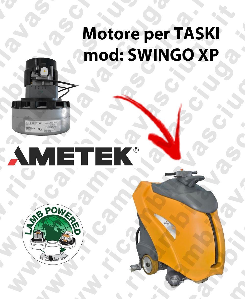 SWINGO XP MOTEUR ASPIRATION LAMB AMATEK pour autolaveuses TASKI