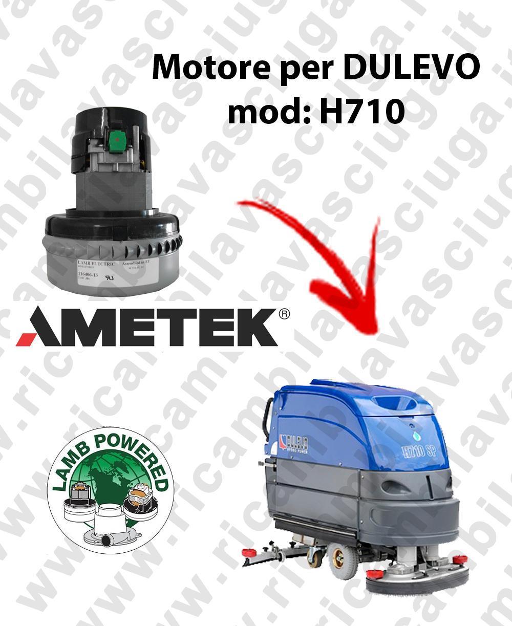H710 MOTEUR ASPIRATION LAMB AMATEK pour autolaveuses DULEVO
