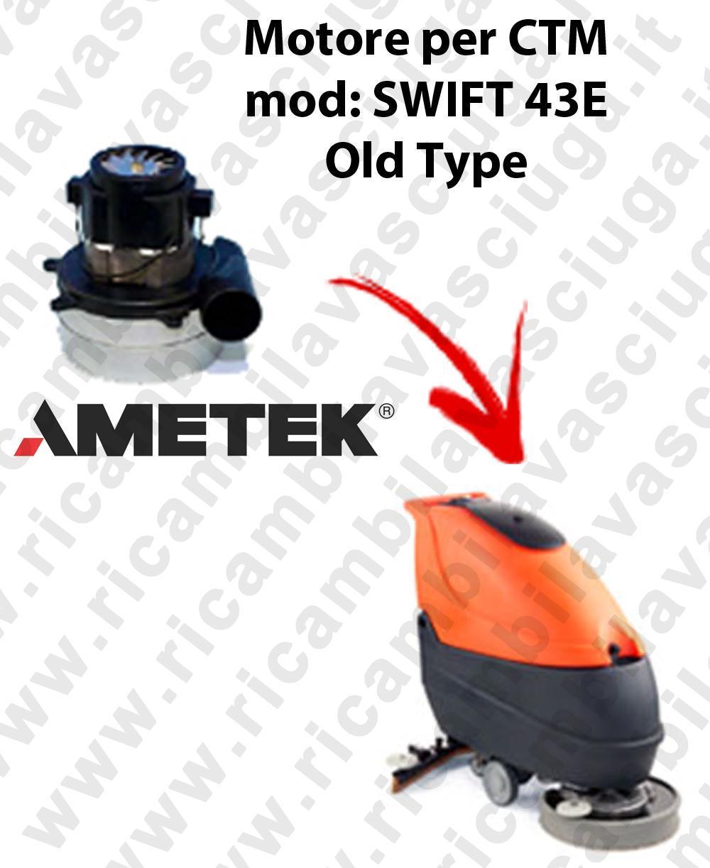 SWIFT 43 et Old Type MOTEUR SYNCLEAN aspiration pour autolaveuses CTM