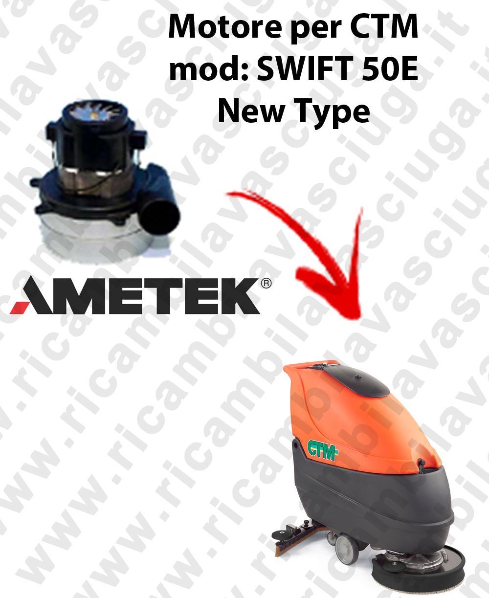 SWIFT 50 et  MOTEUR SYNCLEAN aspiration pour autolaveuses CTM