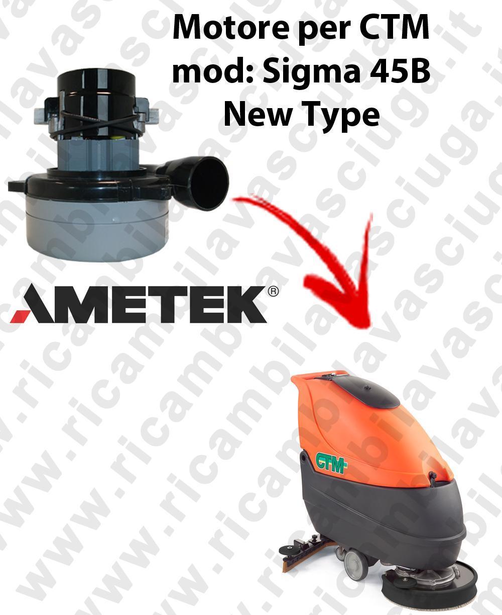 SIGMA 45B MOTEUR ASPIRATION LAMB AMATEK pour autolaveuses CTM