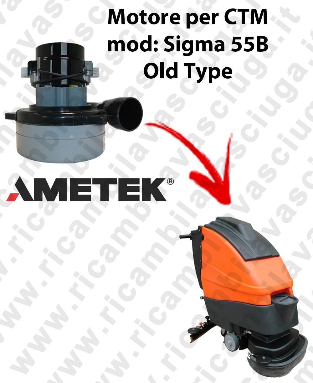 SIGMA 55 B old type MOTEUR ASPIRATION LAMB AMATEK pour autolaveuses CTM