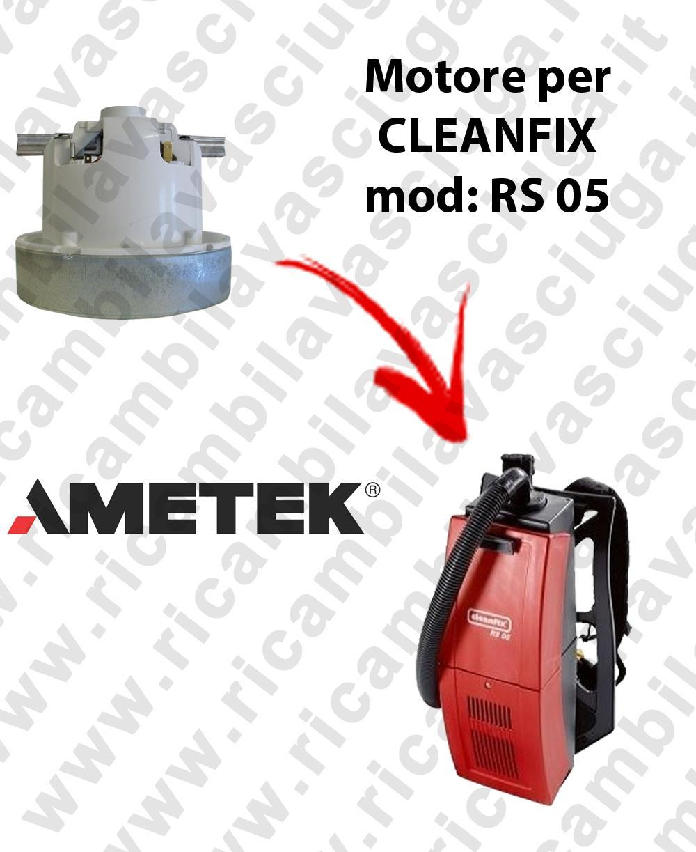 RS 05 MOTEUR ASPIRATION AMETEK pour aspirateur CLEANFIX