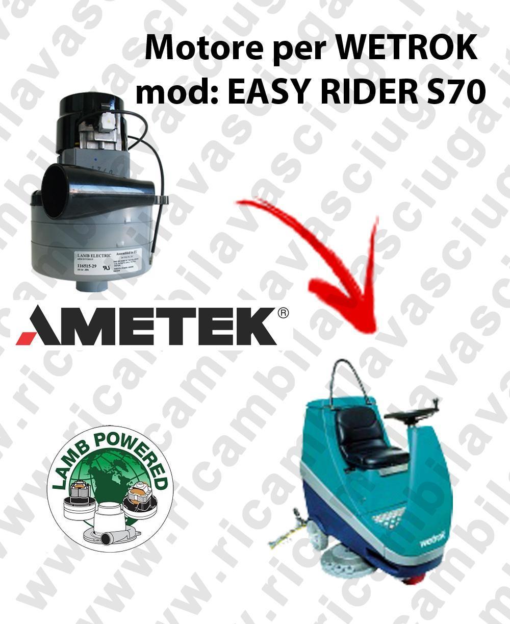 EASY RIDER S70 MOTEUR ASPIRATION LAMB AMATEK pour autolaveuses WETROK