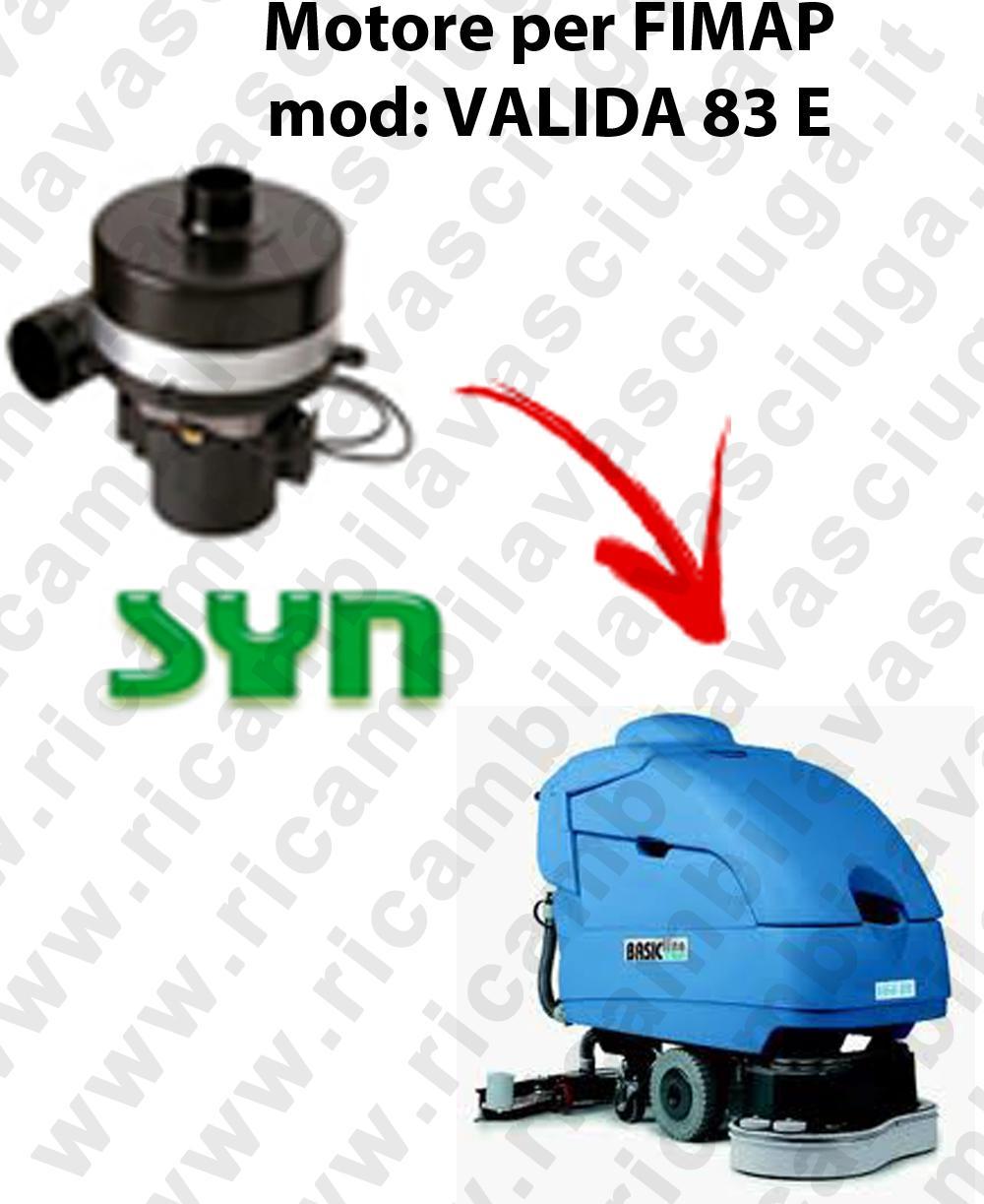 VALIDA 83 et MOTEUR SYN aspiration autolaveuses Fimap