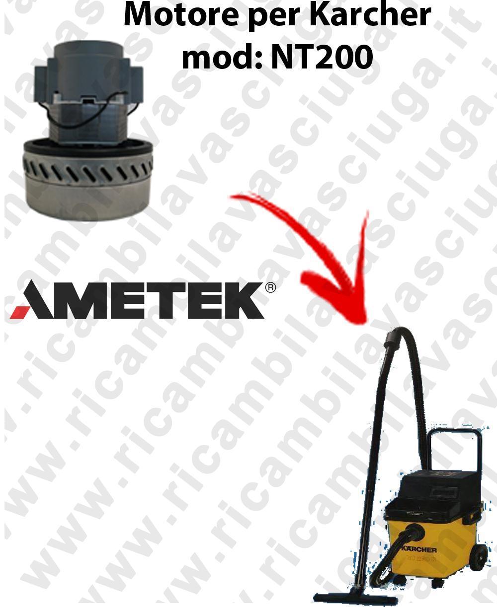 NT200 MOTEUR ASPIRATION AMETEK  pour aspirateur KARCHER