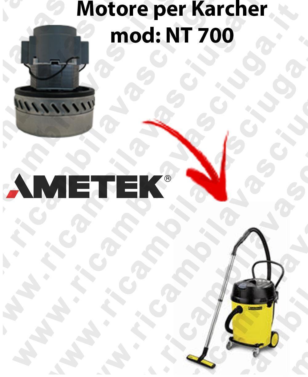 NT700 MOTEUR ASPIRATION AMETEK  pour aspirateur KARCHER