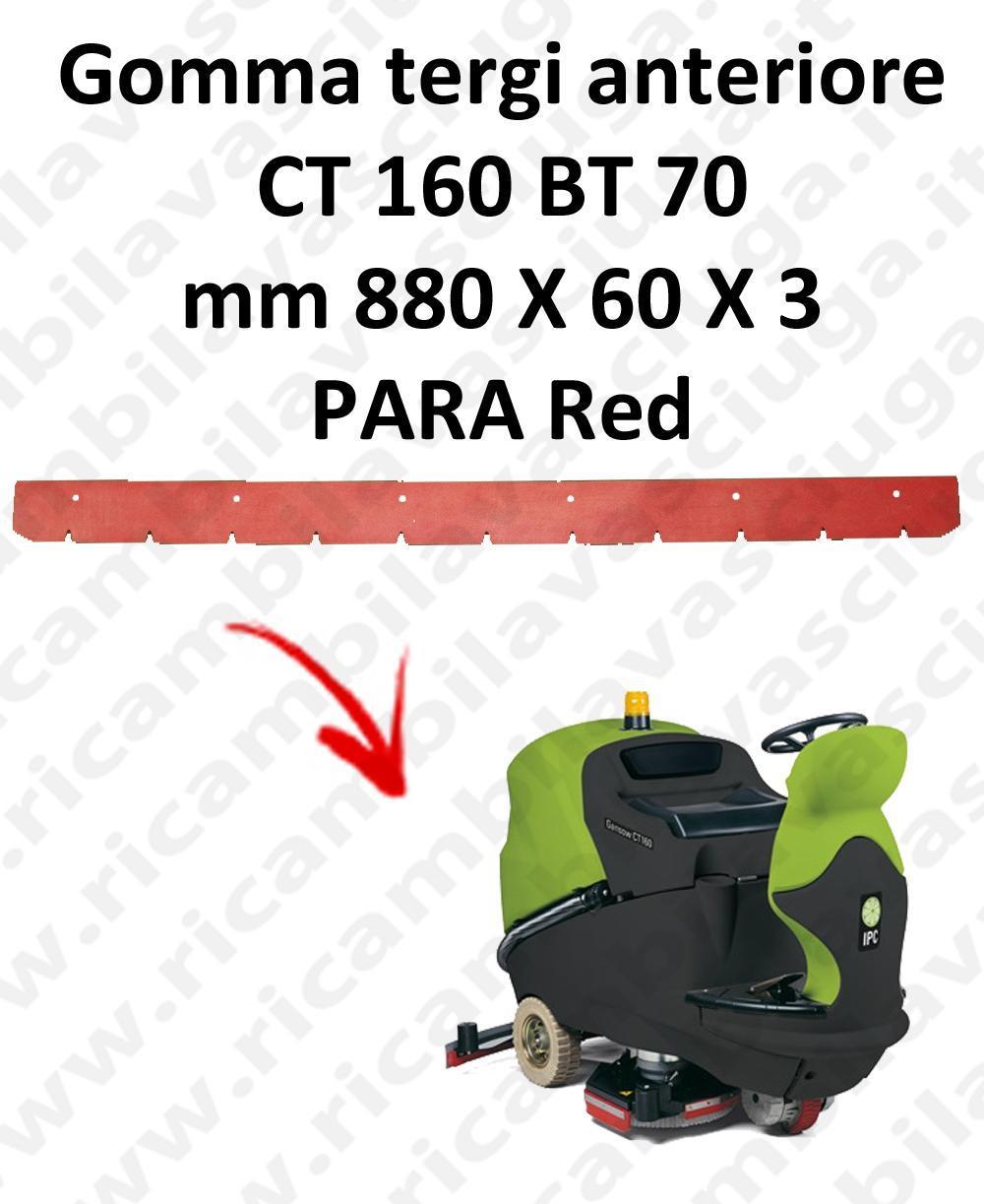 CT 160 BT 70 BAVETTE AVANT pour autolaveuses IPC