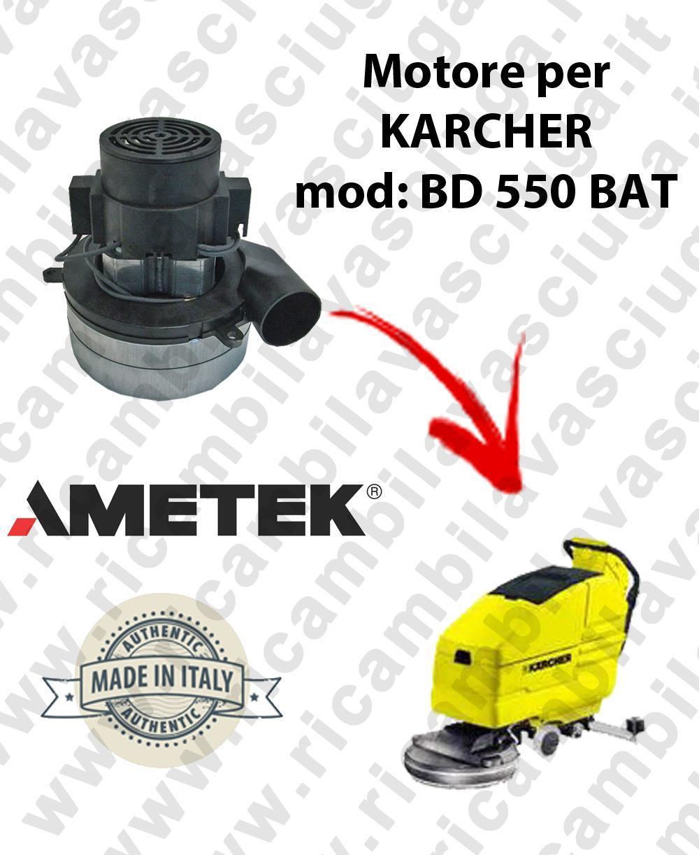 BD 550 BATT MOTEUR AMETEK aspiration pour autolaveuses KARCHER