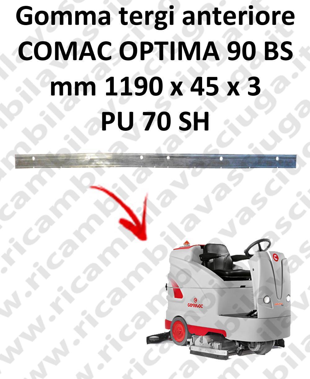 OPTIMA 90BS BAVETTE AVANT pour autolaveuses COMAC