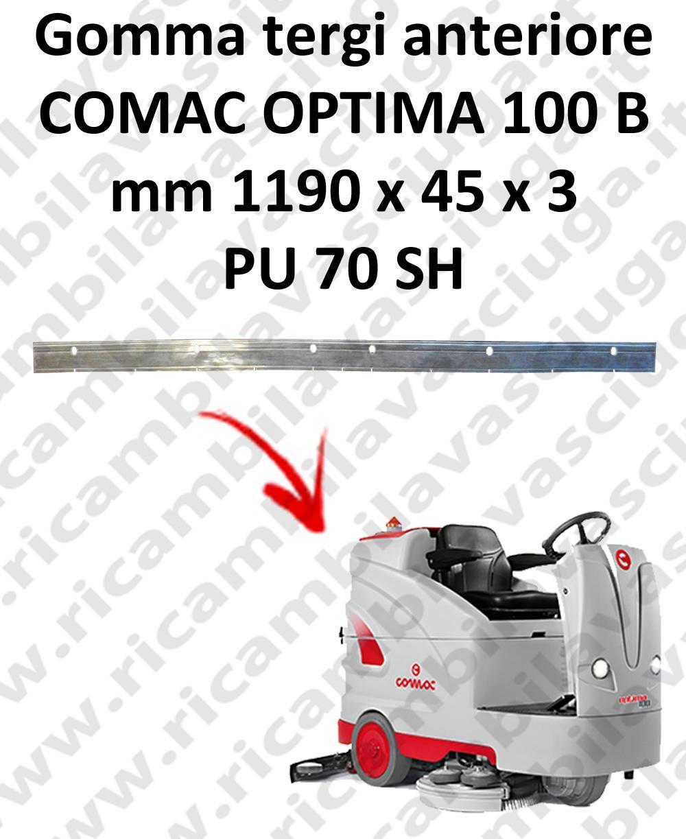 OPTIMA 100B BAVETTE AVANT pour autolaveuses COMAC