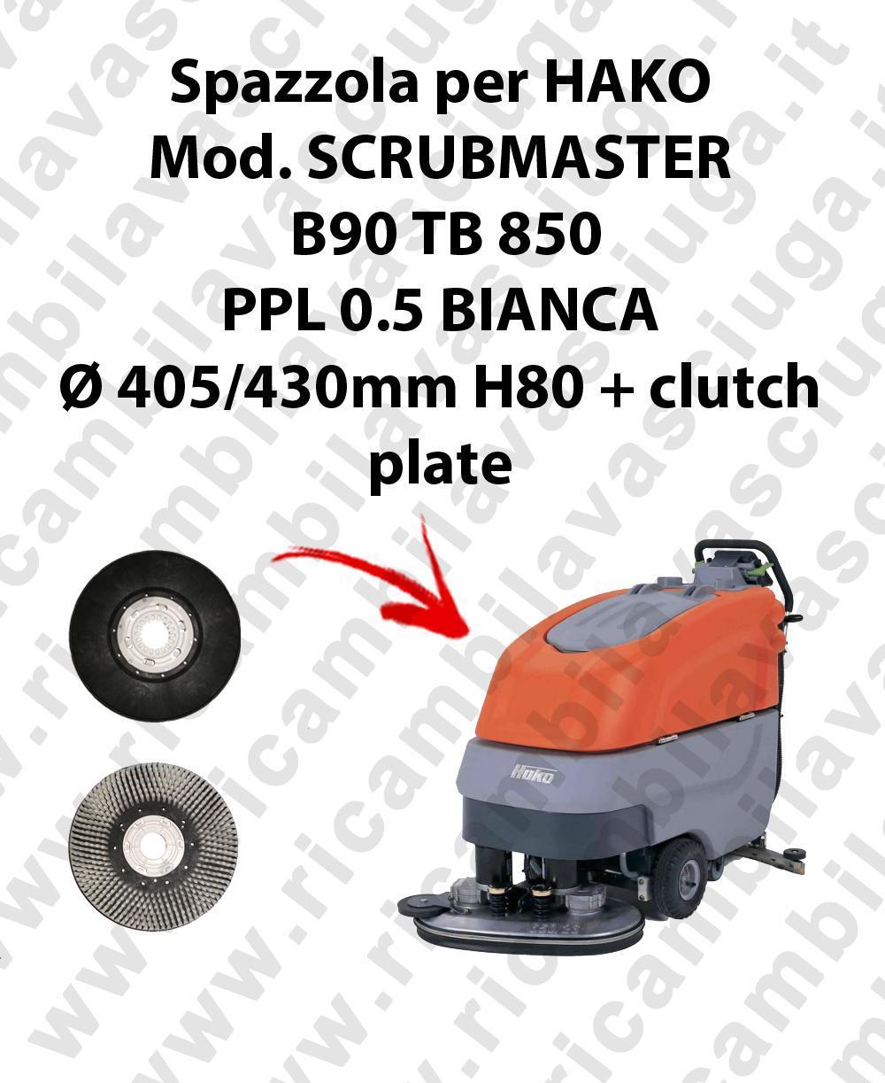 BROSSE A LAVER pour autolaveuses HAKO Reference SCRUBMASTER B90 TB 850