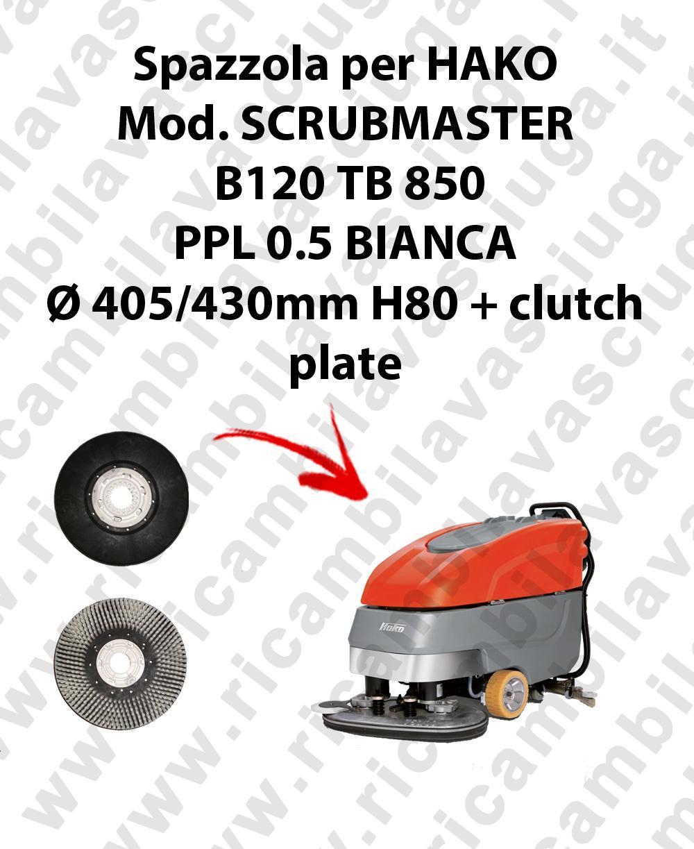 BROSSE A LAVER pour autolaveuses HAKO Reference SCRUBMASTER B120 TB 850