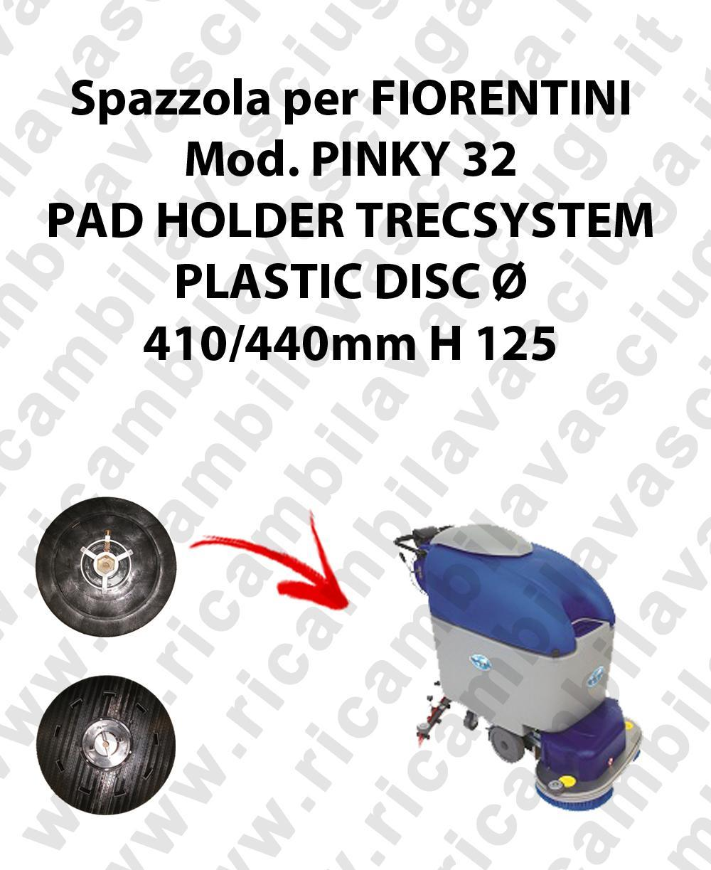 PAD HOLDER TRECSYSTEM  pour autolaveuses FIORENTINI Reference PINKY 32