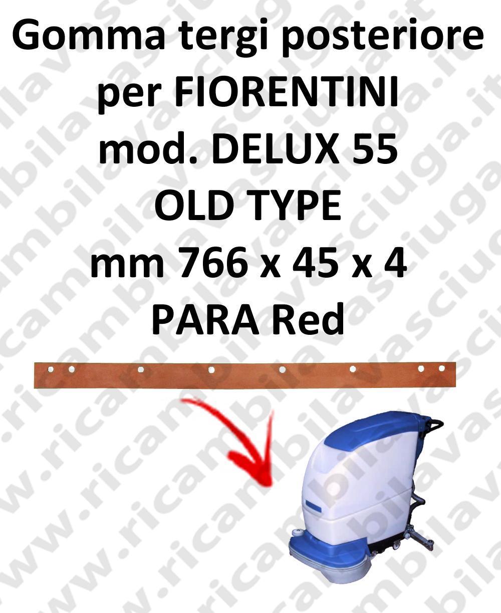 DELUX 55 old type BAVETTE ARRIERE pour autolaveuses FIORENTINI