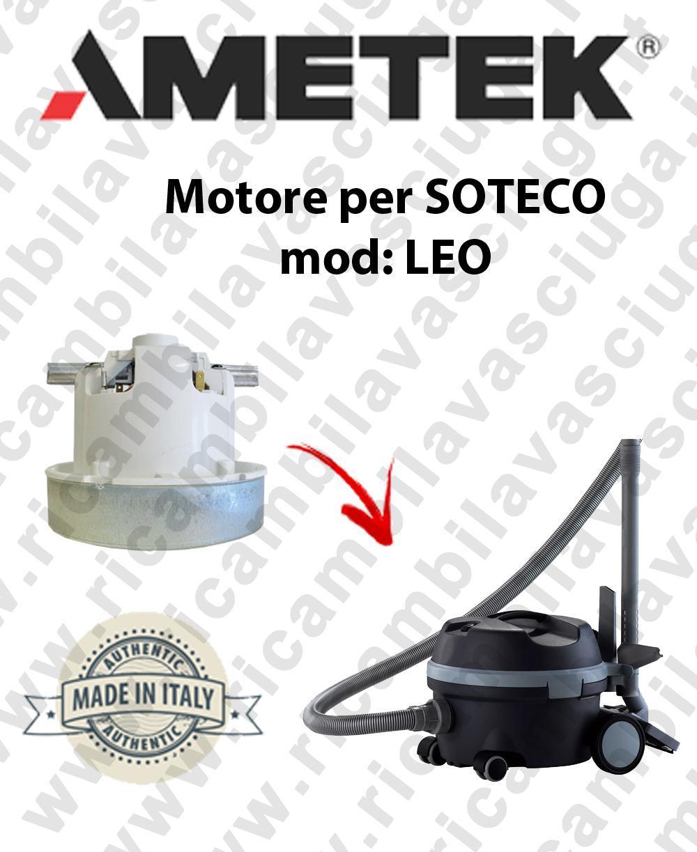 LEO MOTEUR ASPIRATION AMETEK  pour aspirateur SOTECO