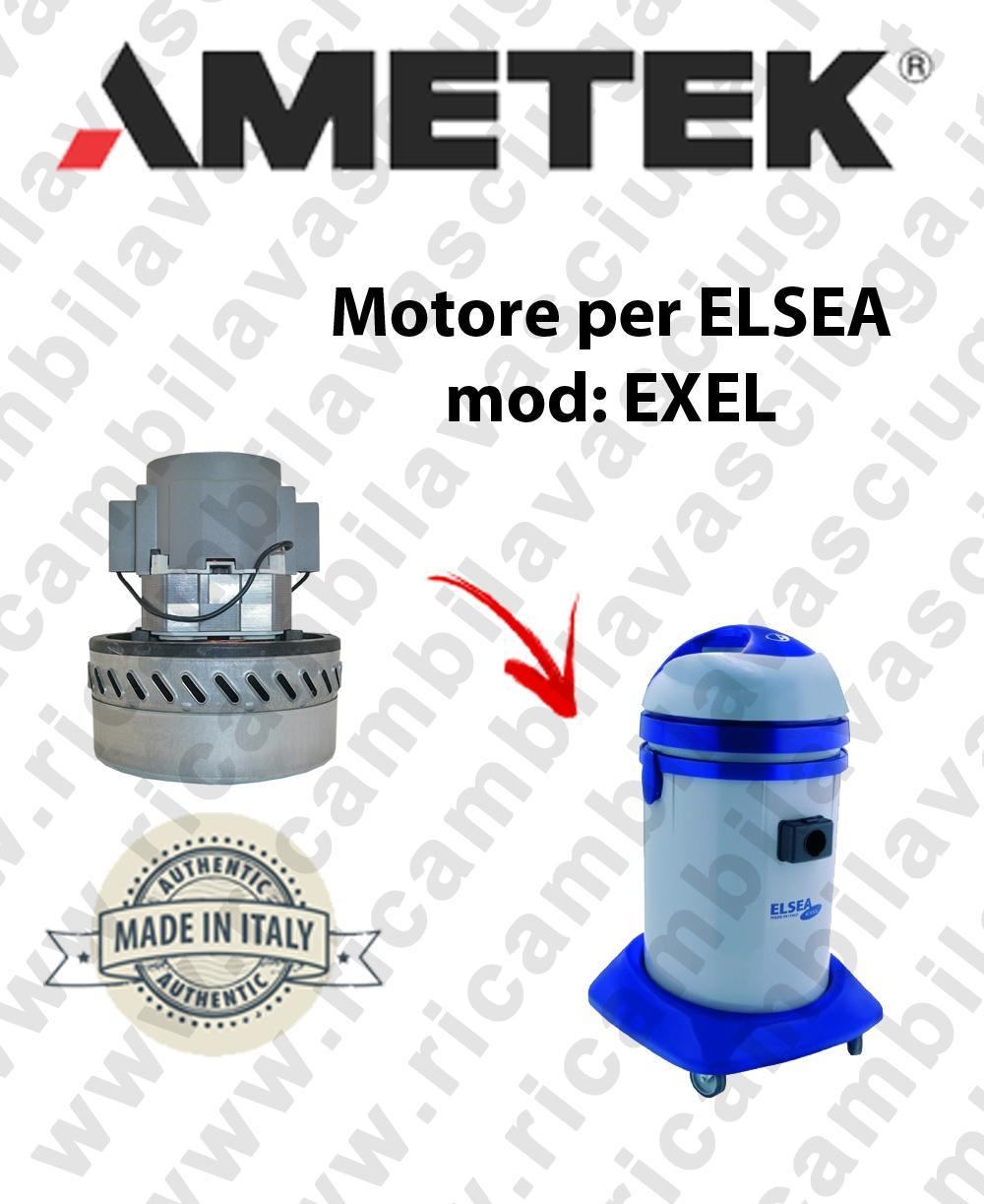 EXEL MOTEUR ASPIRATION AMETEK  pour aspirateur et aspirateur à eau ELSEA