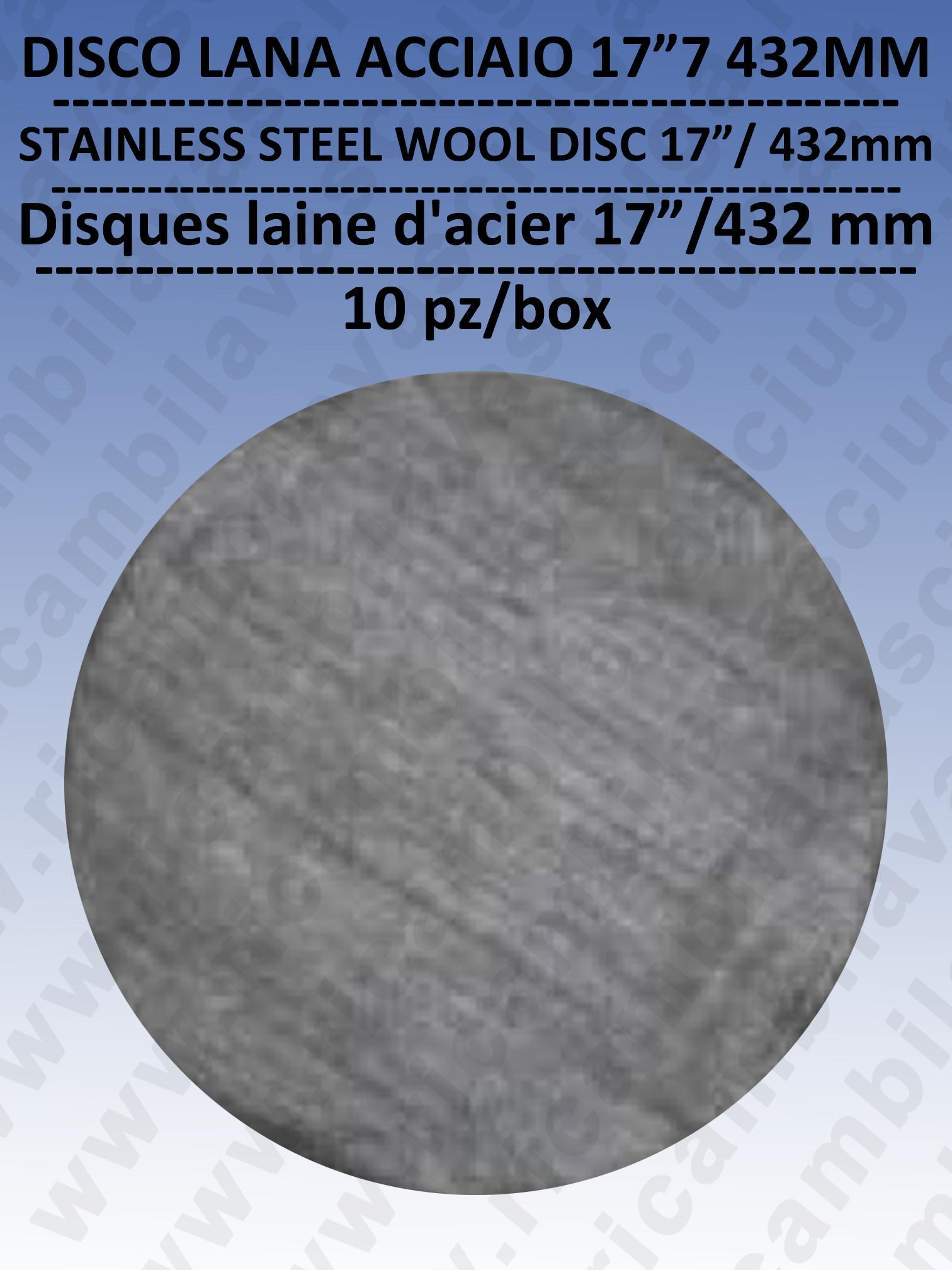 PAD Disques MICROFIBRA DOPPIA FACCIA valide anche pour lucidatura parquet