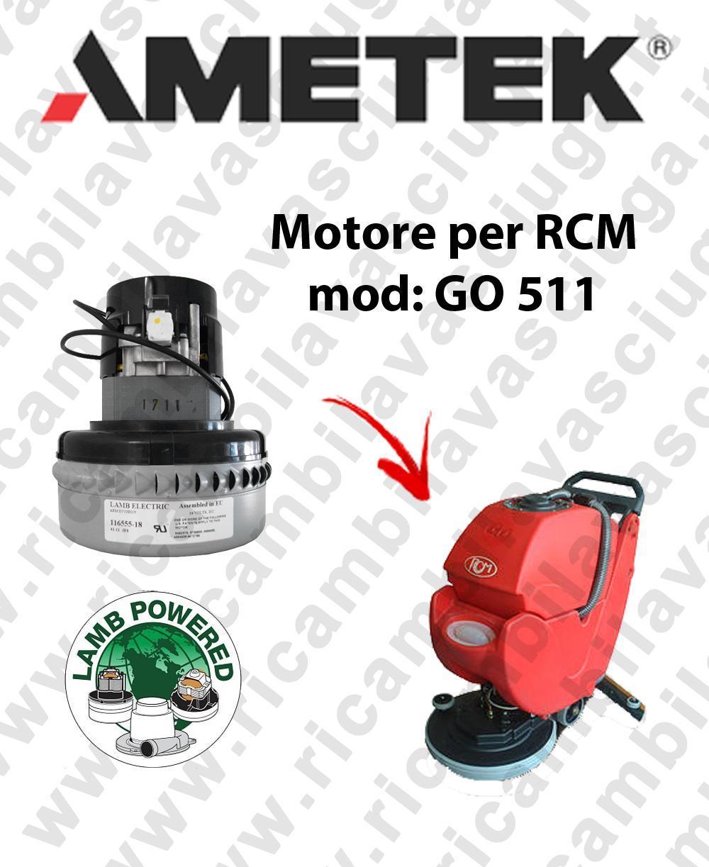 GO 511 MOTEUR ASPIRATION LAMB AMETEK autolaveuses RCM
