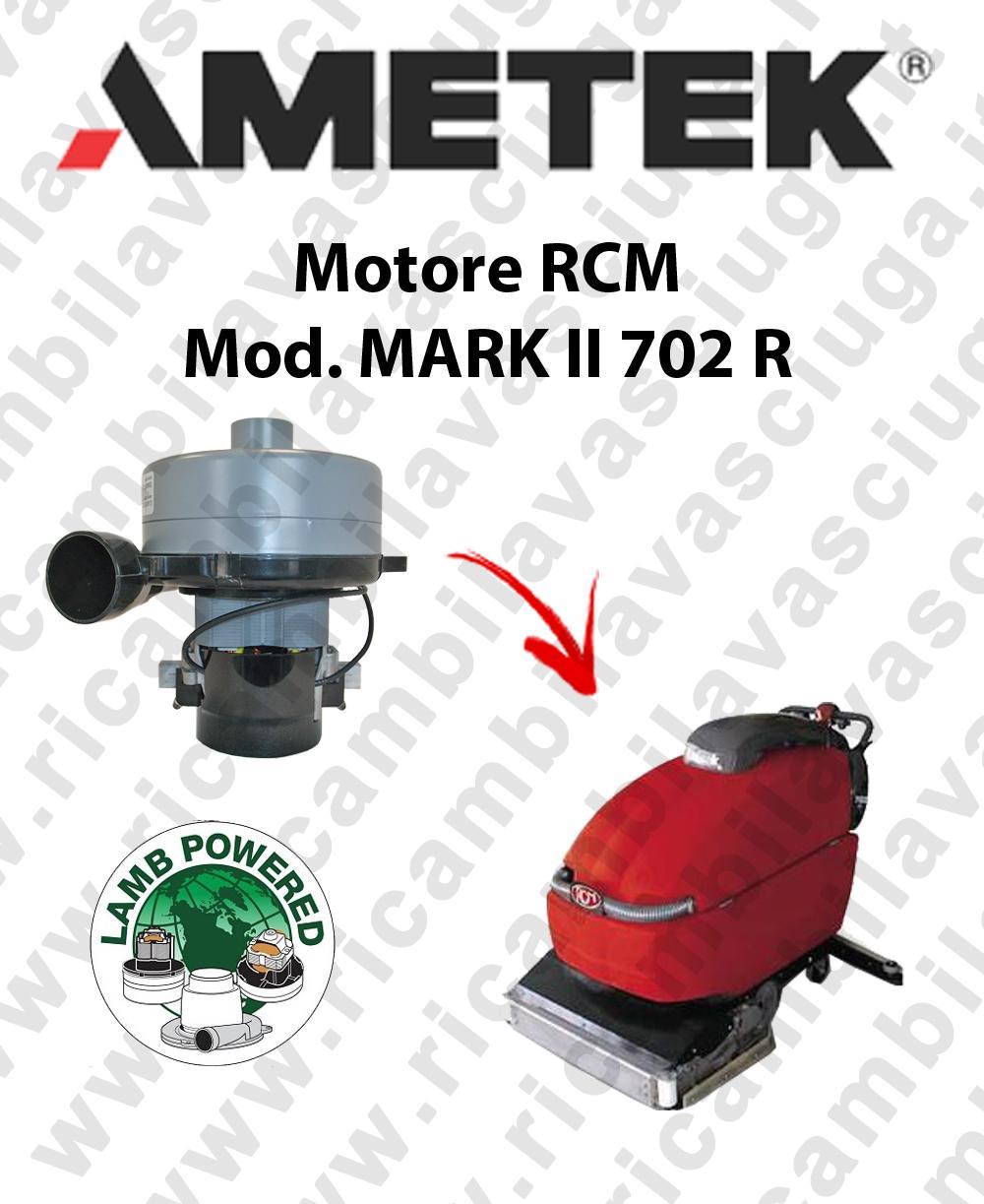 MARK II 702 R MOTEUR ASPIRATION LAMB AMETEK autolaveuses RCM
