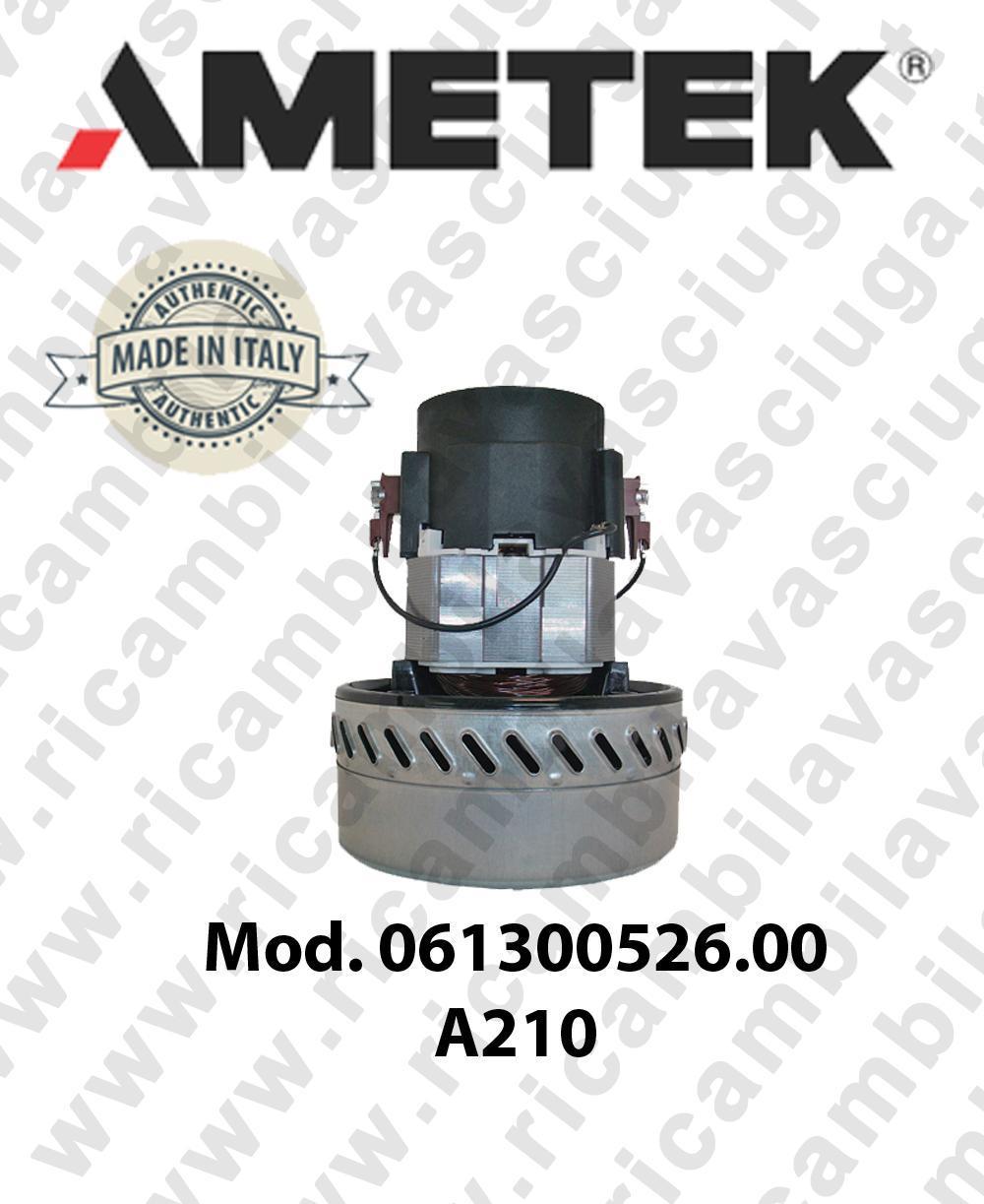 MOTEUR ASPIRATION AMETEK ITALIA 061300526.00 A 210 pour aspirateur et aspirateur àeau