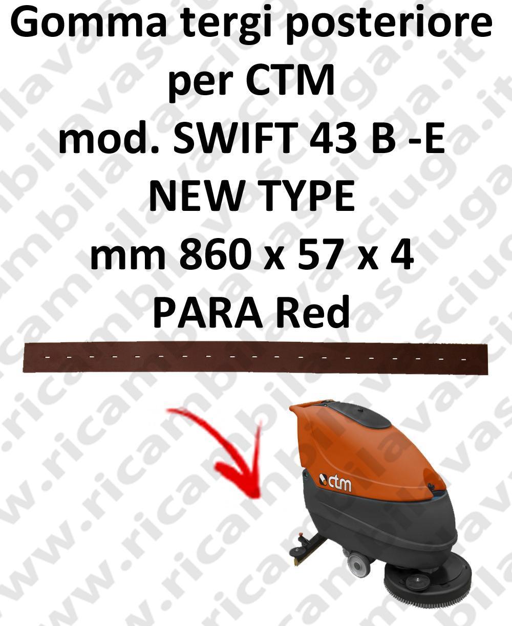 SWIFT 43 B - et new type BAVETTE autolaveuses ARRIERE pour CTM