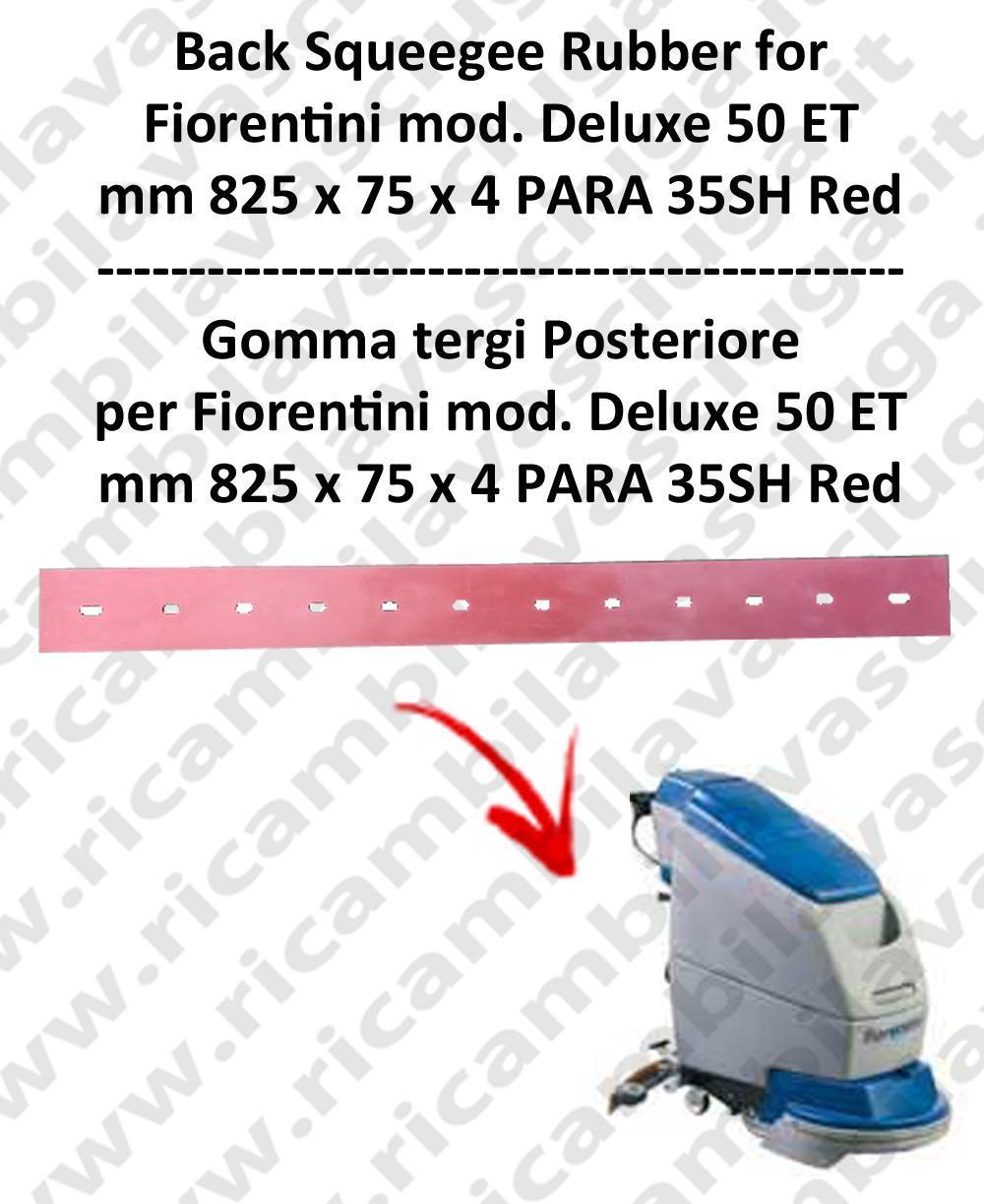 DELUX 50 ET new type Bavette ARRIERE pour autolaveuses  FIORENTINI
