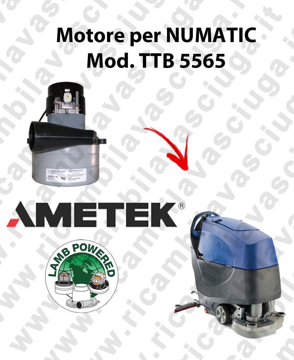 TTB 5565 moteur aspiration AMETEK autolaveuses NUMATIC